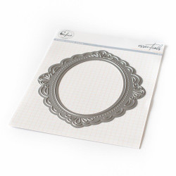 Essentials: Ornate Oval Frame, Pinkfresh Studio Dies - 782150203493