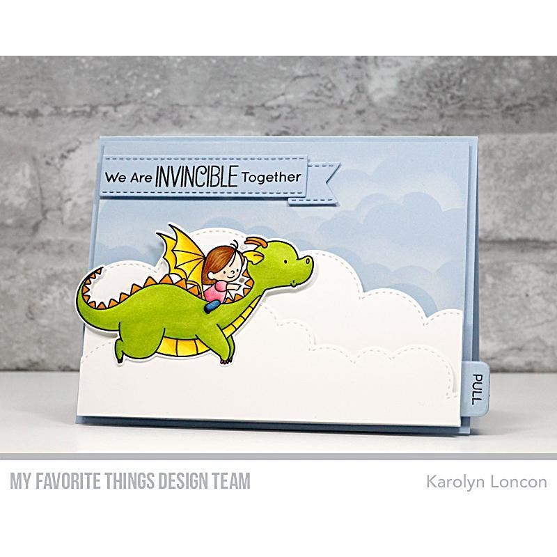 Magical Friends by Birdie Brown, My Favorite Things Clear Stamps - 849923033579