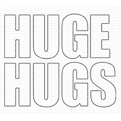 Huge Hugs, My Favorite Things Die-Namics - 849923033678