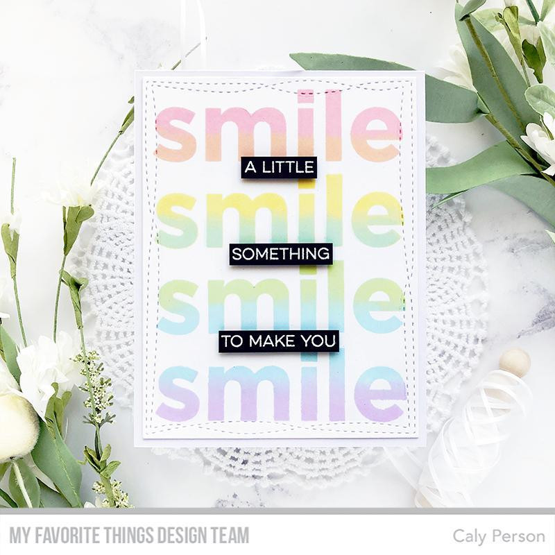 Smile Maker, My Favorite Things Clear Stamps - 849923033593