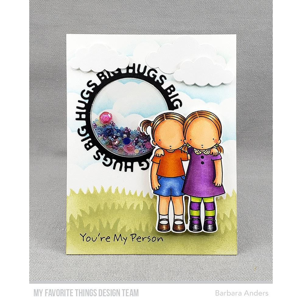 Pure Innocence - You're My Person, My Favorite Things Clear Stamps - 849923033555