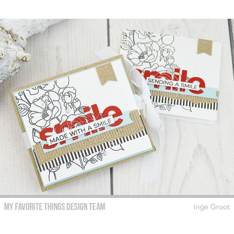 Rose Garden, My Favorite Things Clear Stamps - 849923033562