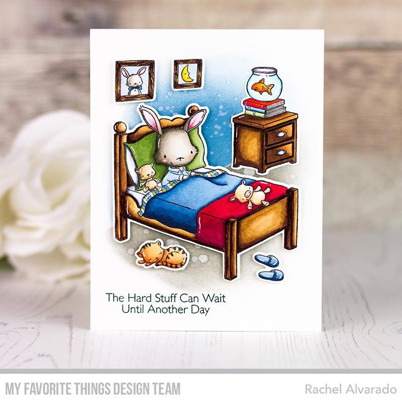 All Tucked In, My Favorite Things Clear Stamps - 849923033524