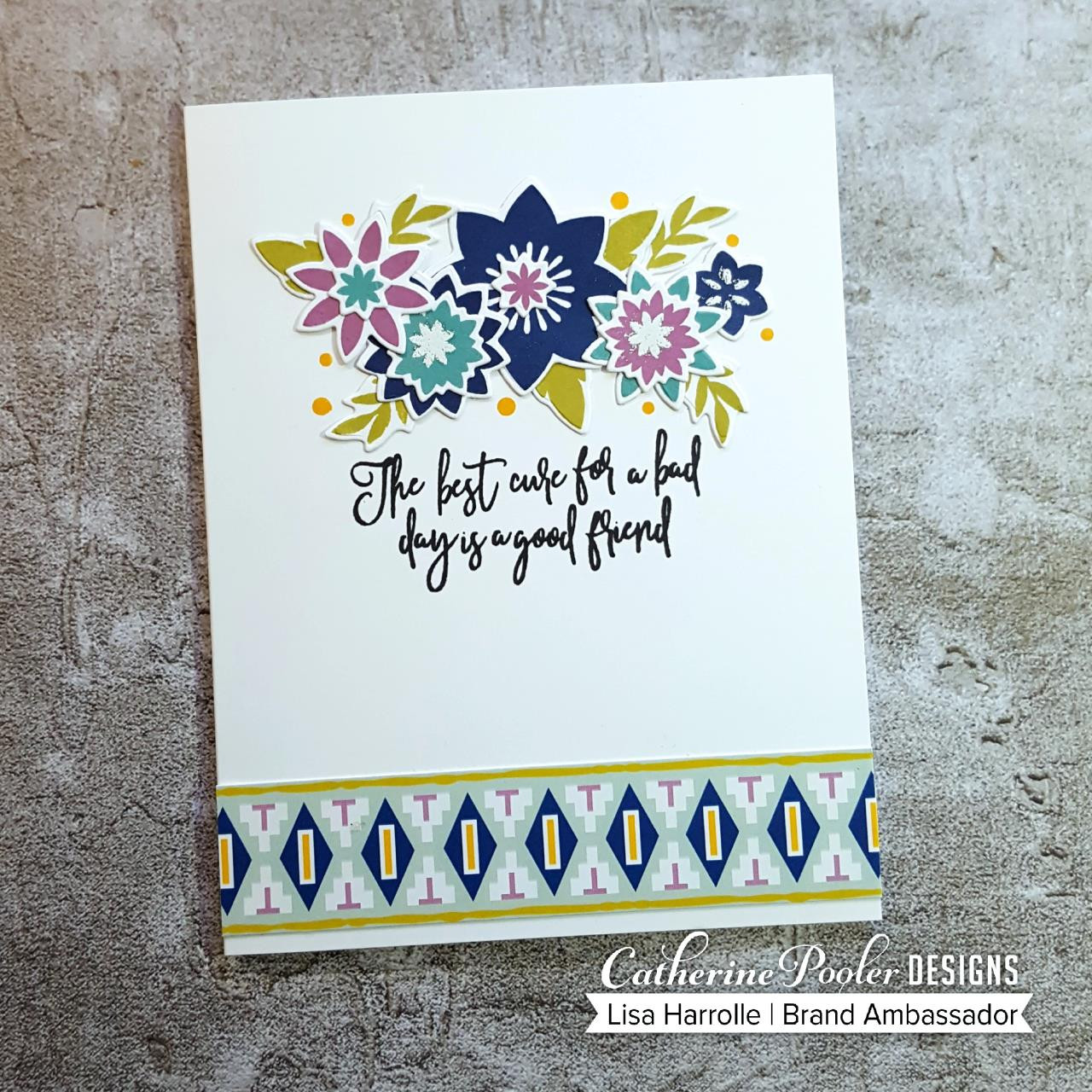 My Kind Floral, Catherine Pooler Clear Stamps - 819447023714