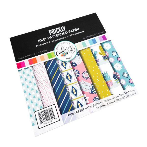 Prickly, Catherine Pooler Patterned Paper - 819447023905