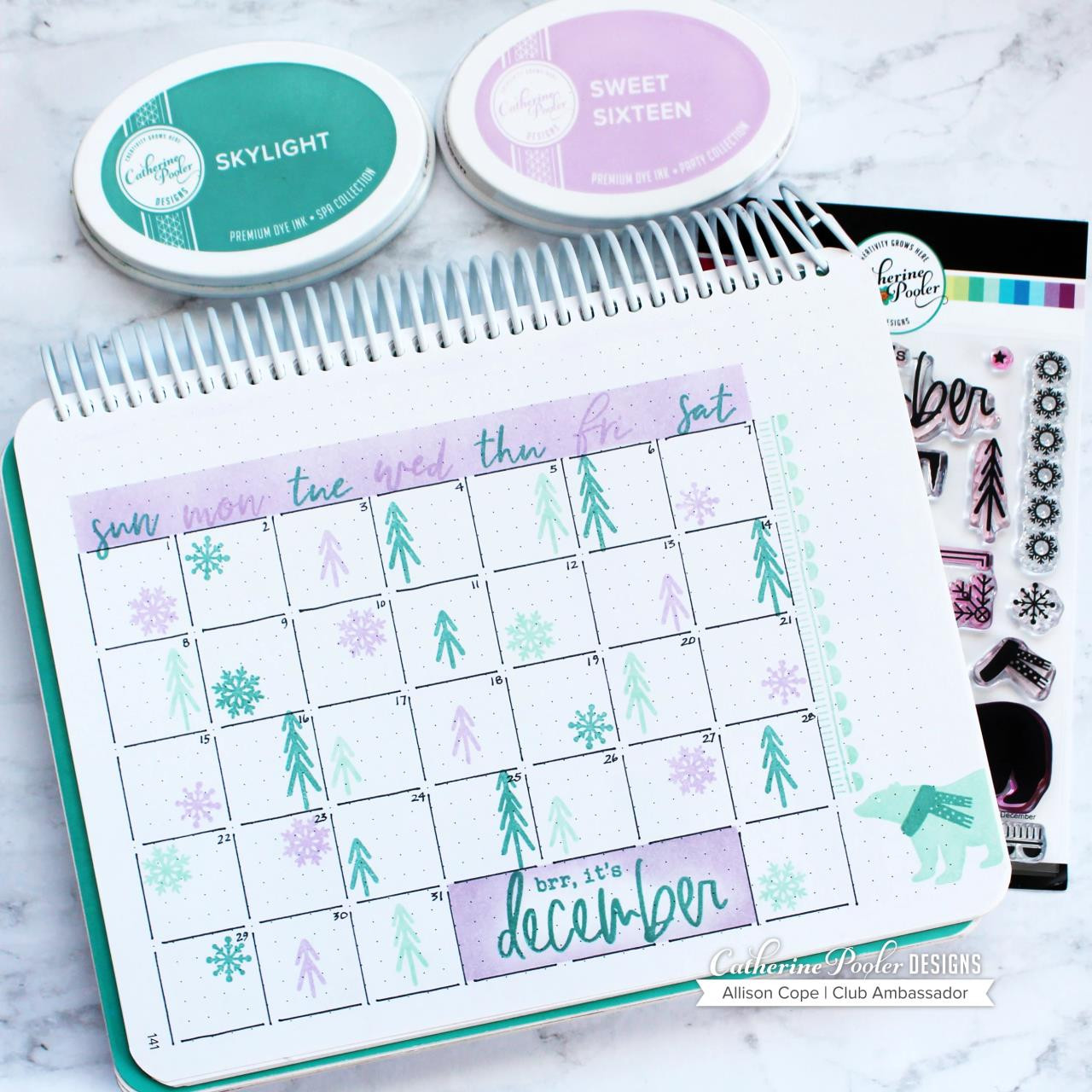 Brr, It's December, Catherine Pooler Clear Stamps - 819447025800