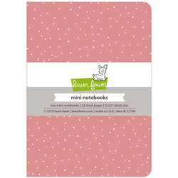 Pretty In Pink - Mini Notebooks, Lawn Fawn - 035292674332