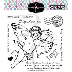 Cupid's Bow, Colorado Craft Company Clear Stamps - 857287008843