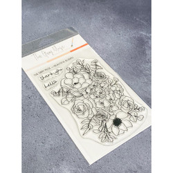 Beautiful Blooms, The Gray Muse Clear Stamps -