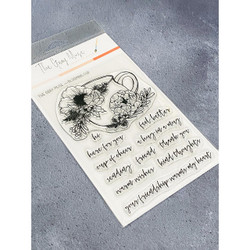 Blooming Cup, The Gray Muse Clear Stamps -