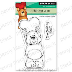 Fur-ever Yours, Penny Black Clear Stamps - 759668306527