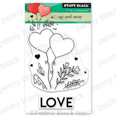 Up and Away, Penny Black Clear Stamps - 759668306534