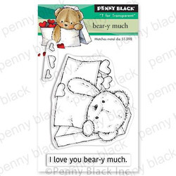 Bear-y Much, Penny Black Clear Stamps - 759668306572