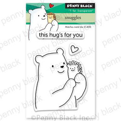 Snuggles, Penny Black Clear Stamps - 759668306602