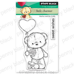 Little Charmer, Penny Black Clear Stamps - 759668306626