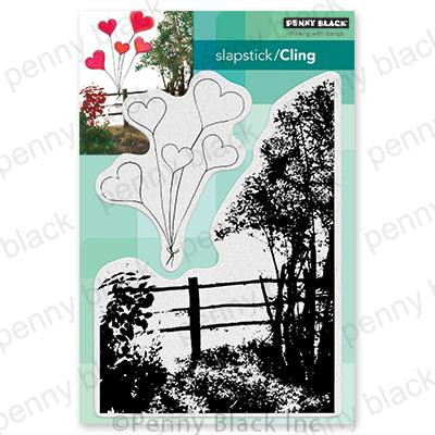 Beloved View, Penny Black Cling Stamps - 759668407200