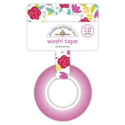 Pretty Posies, Doodlebug Washi Tape - 842715065703