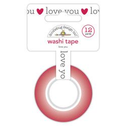 Love You, Doodlebug Washi Tape - 842715065710