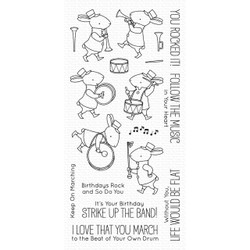 Strike Up the Band by Birdie Brown, My Favorite Things Clear Stamps - 849923033784