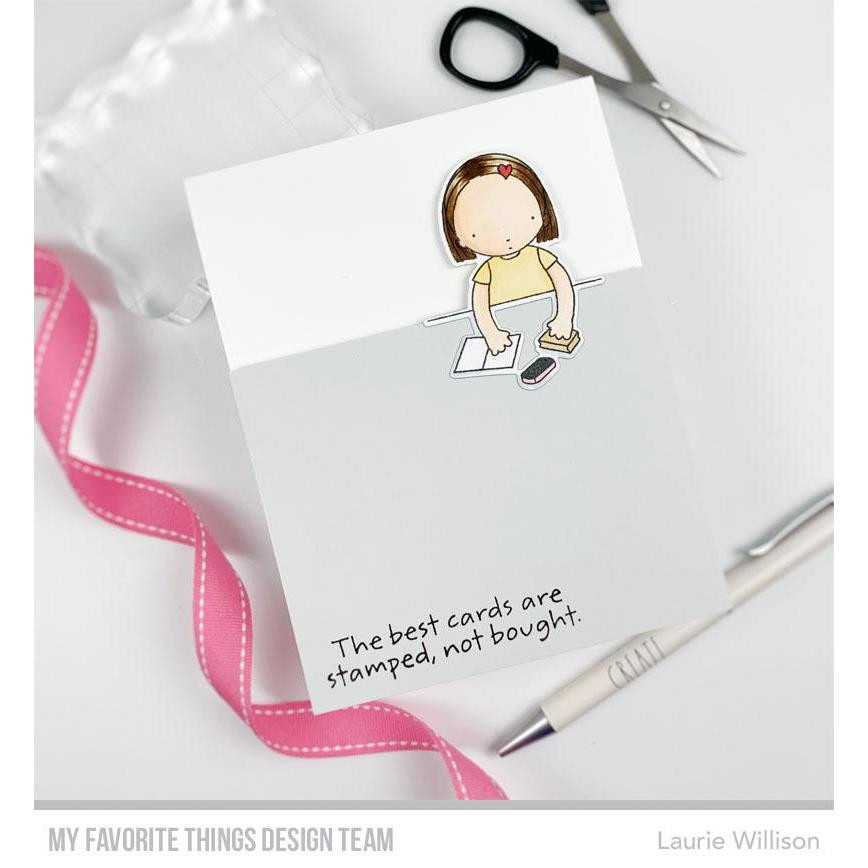 Pure Innocence - Crafty Friends, My Favorite Things Clear Stamps - 849923033777