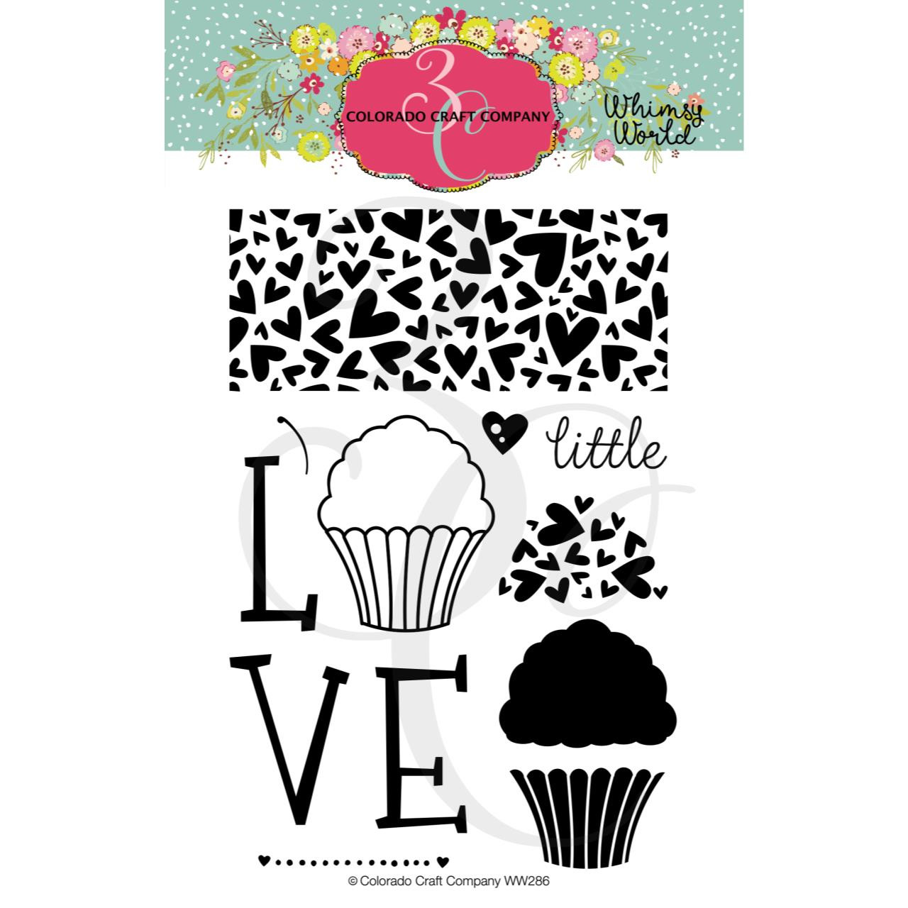 Little Love, Colorado Craft Company Clear Stamps - 857287008867
