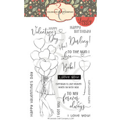 I Got You, Babe, Colorado Craft Company Clear Stamps - 857287008911