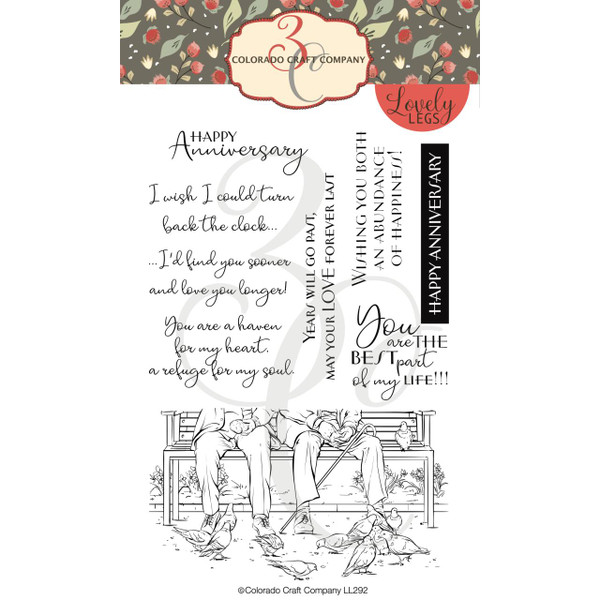 Best Life, Colorado Craft Company Clear Stamps - 857287008928