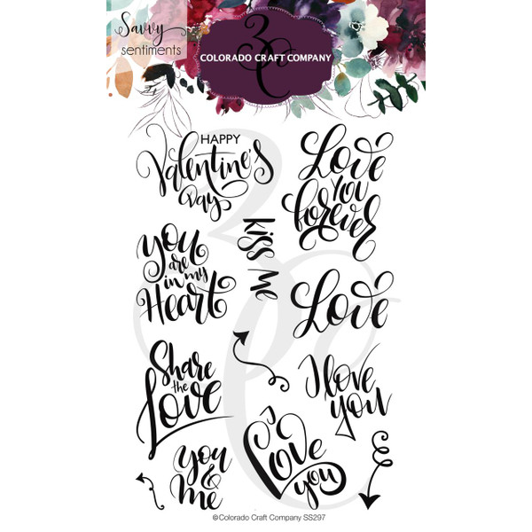 You & Me, Colorado Craft Company Clear Stamps - 857287008973