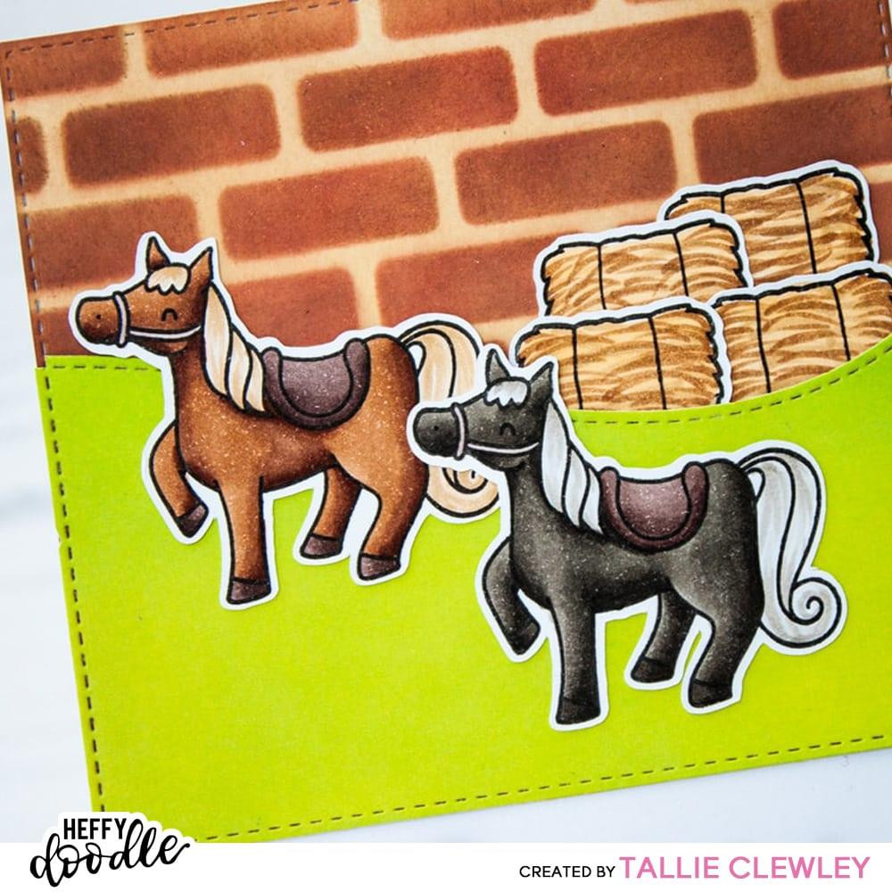 Hay There, Heffy Doodle Clear Stamps - 5060540221520