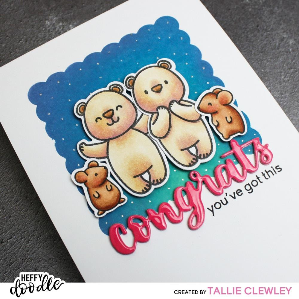 More Classic Sentiments, Heffy Doodle Clear Stamps - 5060540222244