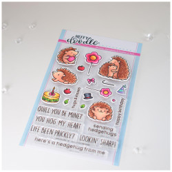 Quill You Be Mine, Heffy Doodle Clear Stamps - 5060540222442