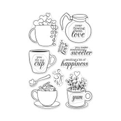 Cup of Love, Hero Arts Clear Stamps - 085700926065