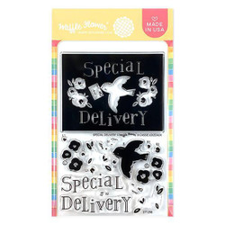 Special Delivery, Waffle Flower Clear Stamps - 644216571321
