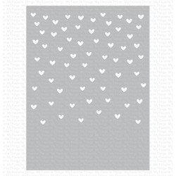 Love Is in the Air, My Favorite Things Stencils - 849923033906