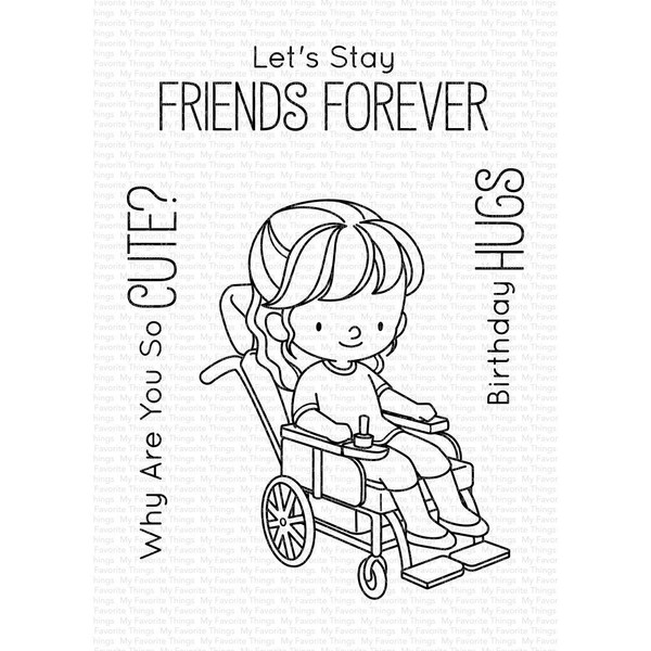 Friends Forever by Birdie Brown, My Favorite Things Clear Stamps - 849923033982