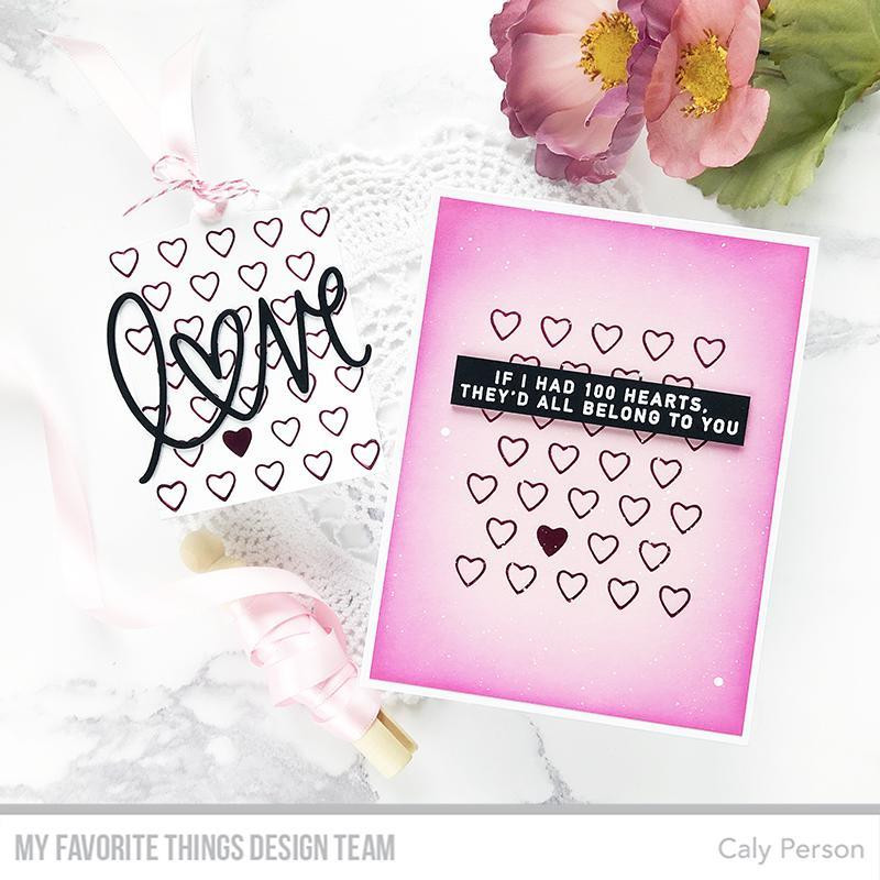 Smitten With You, My Favorite Things Clear Stamps - 849923033876