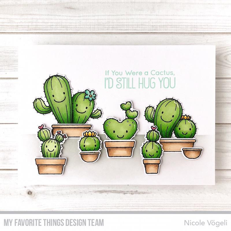 Let's Stick Together by Birdie Brown, My Favorite Things Clear Stamps - 849923033920