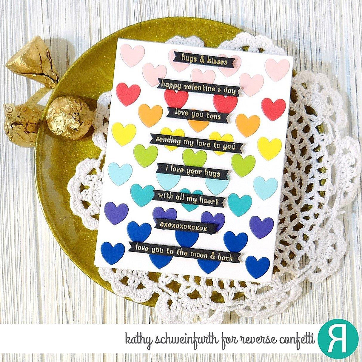 So Very Lovely, Reverse Confetti Clear Stamps -