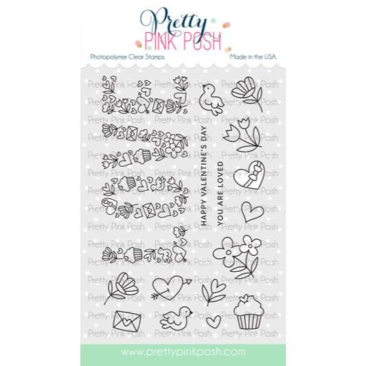 Love, Pretty Pink Posh Clear Stamps -