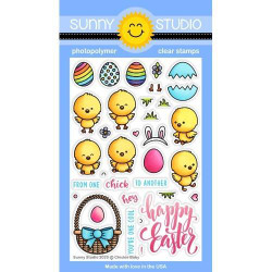 Chickie Baby, Sunny Studio Clear Stamps - 797648687808