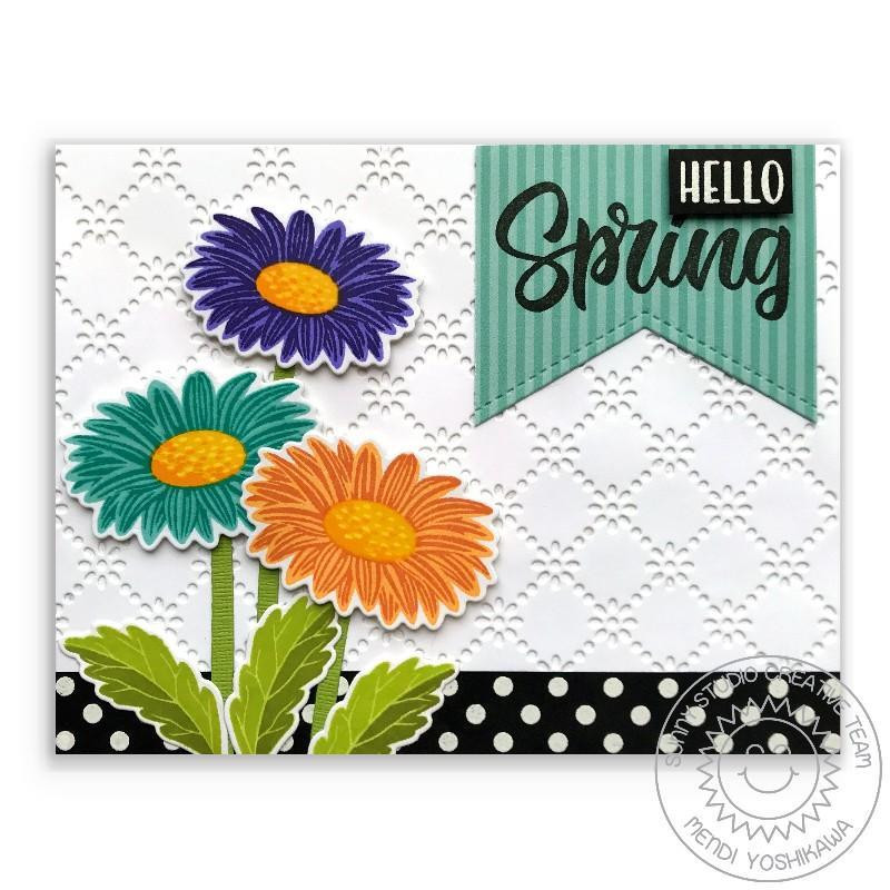 Frilly Frames - Eyelet Lace, Sunny Studio Dies - 797648687983