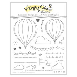 Up, Up and Away, Honey Bee Clear Stamps - 652827604536