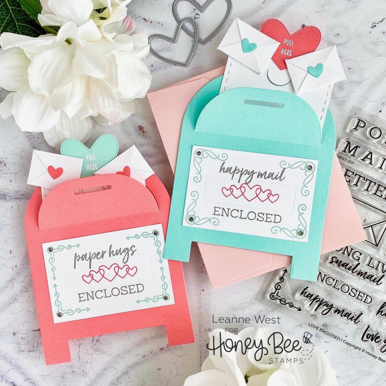 Love Enclosed, Honey Bee Clear Stamps - 652827604574