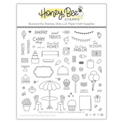 Treat Shop Add-On, Honey Bee Clear Stamps - 652827604598