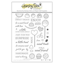 Sweet Treats, Honey Bee Clear Stamps - 652827604604