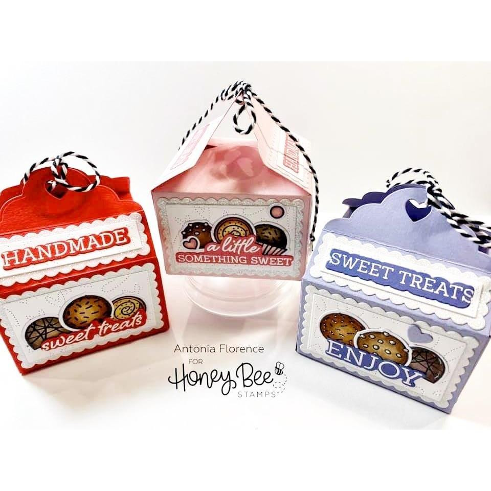 Sweet Treats Box, Honey Cuts Dies - 652827604284