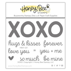 XOXO, Honey Bee Clear Stamps - 652827604611