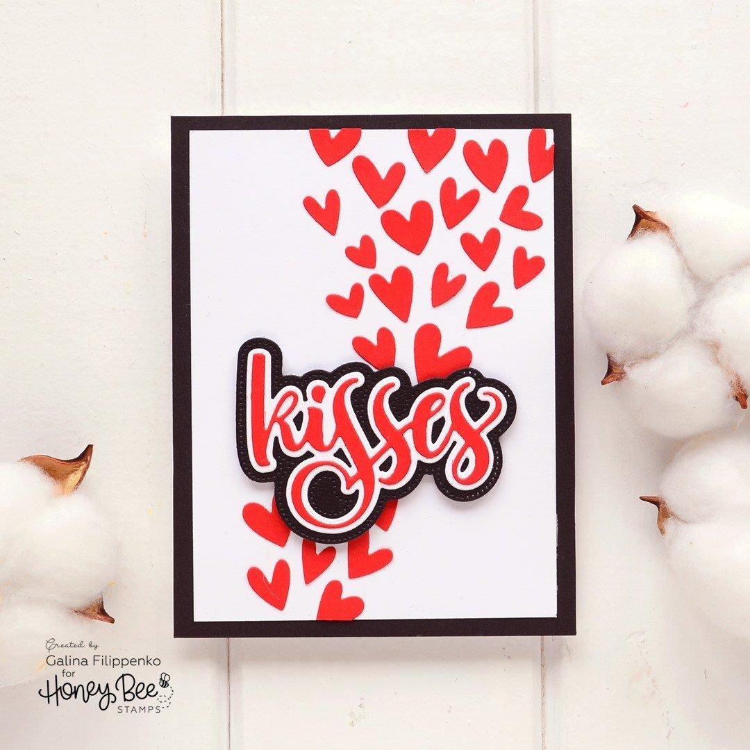 Kisses, Honey Bee Clear Stamps - 652827604635