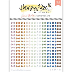 Sweet on You Gems, Honey Bee Stickers - 652827604482