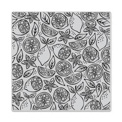 Fresh Citrus Bold Prints, Hero Arts Cling Stamps - 085700824849